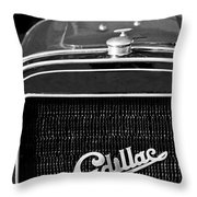 1907 Cadillac Model M Touring Grille Emblem Throw Pillow