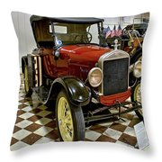 1926 Ford Model T Roadster Throw Pillow