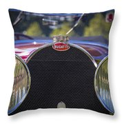 1930 Bugatti Type 50 Drop Head Coup Throw Pillow