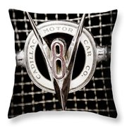 1931 Cadillac Emblem Throw Pillow