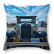 1931 Model T Ford Throw Pillow