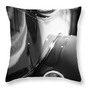 1932 Auburn Twelve Custom Phaeton Taillight Emblem Throw Pillow