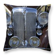 1933 Chrysler Imperial - Cl Phaeton Throw Pillow