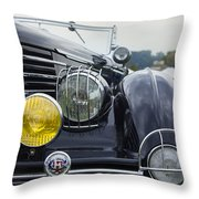 1935 Delage Throw Pillow