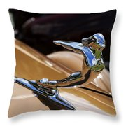 1936 Cadillac Series 75 By Fleetwood Throw Pillow