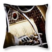 1937 Cord 812 Phaeton Controls Throw Pillow