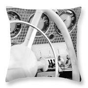 1937 Cord 812 Phaeton Dashboard Instruments Throw Pillow