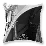 1939 Aston Martin 15-98 Abbey Coachworks Swb Sports Suspension Control Throw Pillow