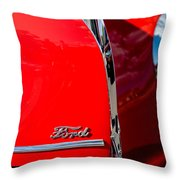 1939 Ford Grille Throw Pillow