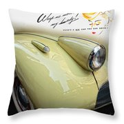 1940 Buick 41c Throw Pillow