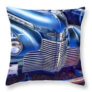 1940 Chevy Grill Throw Pillow