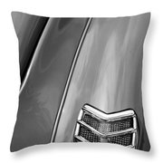 1940 Ford Deluxe Coupe Taillight Throw Pillow