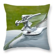 1940 Packard Throw Pillow
