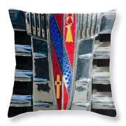 1941 Buick Eight Special Emblem Throw Pillow
