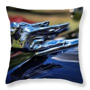 1941 Cadillac Series 62 Coupe Throw Pillow