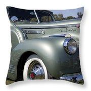 1941 Packard 160 Super Eight Throw Pillow