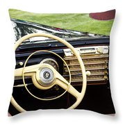 1942 Lincoln Throw Pillow