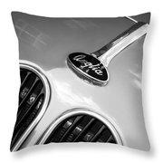 1948 Anglia Grille Emblem -510c Throw Pillow