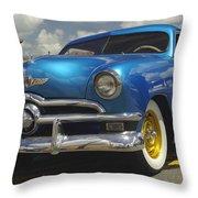 1950 Ford Automobile Throw Pillow
