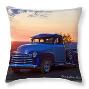 1951 Chevy Pick Up Throw Pillow