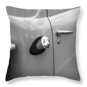 1951 Ford F1 Pickup Truck Bw Throw Pillow