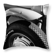 1952 Frazer-nash Le Mans Replica Mkii Competition Model Tire Emblem Throw Pillow