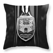 1952 Volkswagen Vw Emblem Throw Pillow
