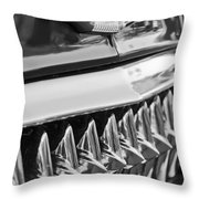 1953 Chevrolet Grille Emblem Throw Pillow