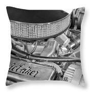 1953 Studebaker Champion Starliner Engine Throw Pillow