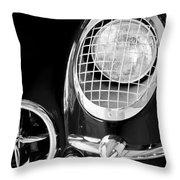 1954 Chevrolet Corvette Head Light Throw Pillow