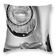1954 Chevrolet Corvette Headlight Throw Pillow