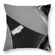 1954 Kurtis-kraft 500s Continuation Hood Emblem Throw Pillow