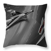 1955 Chevrolet Bel Air Eagle Throw Pillow by Ron Pate