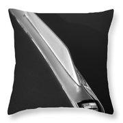 1955 Studebaker President Hood Emblem Throw Pillow