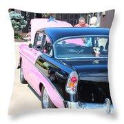 1956 Chevrolet Throw Pillow