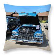 1958 Buick Throw Pillow