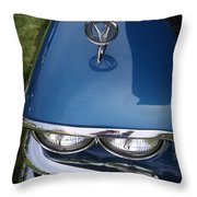 1958 Buick Super 56r Throw Pillow