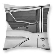 1958 Chevrolet Belair Throw Pillow