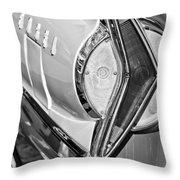 1958 Edsel Wagon Tail Light Throw Pillow
