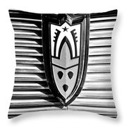 1958 Oldsmobile Emblem Throw Pillow