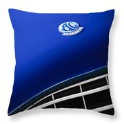 1959  Ac Ace Bristol Grille Emblem Throw Pillow