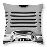 1959 Bmw 600 Isetta Emblem Throw Pillow