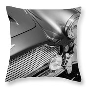 1960 Aston Martin Db4 Series II Grille Throw Pillow