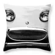 1960 Austin-healey Sprite Throw Pillow