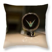 Thunderbird Hood Ornament Throw Pillow