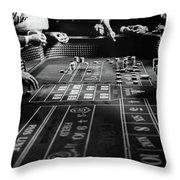 1960s Four Anonymous Unidentified Throw Pillow