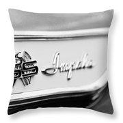 1961 Chevrolet Impala Ss Emblem Throw Pillow