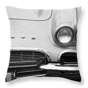 1961 Vette Throw Pillow