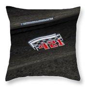 1961 Pontiac Catalina 421 Throw Pillow