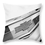 1962 Chevrolet Belair Emblem Throw Pillow